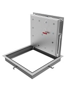 24 x 30 Floor Hatch / Door, Aluminum, 1- Door, 2-Hour Fire Rated, SPECIFY OPENING