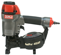 SENCO Roofpro 455XP Coil Roofing Nailer Kit (1) - Senco RoofPro 455XP Coil Roofing Nailer Kit. Drives 3/4 to 1-3/4 Coil Roofing Nails. 5-Year Factory Warranty. Price/Each. (see special ordering notes in detail view)