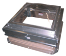 30 x 36 SunLit Domed Roof Hatch, Aluminum, Mill Finish