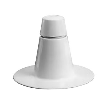 Roof Breather Vent 2 Way White Pvc