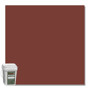 Concrete Color Hardener, Shake On, Dark Red, 50 lb - Perma-Cast® shake-on Color Hardener for decorative concrete projects, Dark Red, 50 lb, Price/Each (special order, shipping lead time 2 weeks; aka P16-DARKRED)
