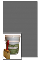Antiquing Release for Concrete, Storm Gray color, 30-lb pail
