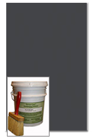 Antiquing Release for Concrete, Deep Charcoal color, 30-lb pail
