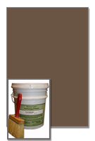 Antiquing Release for Concrete, Walnut color, 30-lb pail