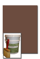 Antiquing Release for Concrete, Russet color, 30-lb pail