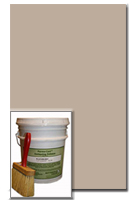 Antiquing Release for Concrete, Smoke color, 30-lb pail