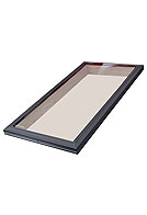Sun-Tek CMA-2246 Fixed Curb Mount Aluminum Skylight, 22-1/2 X 46-1/2 inches, Polycarbonate Double Dome (1)