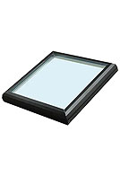 Sun-Tek CMGII-2525 Fixed Tempered Glass Skylight, 22-1/2 X 22-1/2 inches, Curb Mount, Insulated Glass (1)