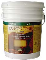 Canyon Tone Clear Penetrating Concrete & Masonry Sealer (5G) - Canyon Tone Clear Penetrating Masonry Sealer, Dries Flat, Non-Glossy. 5 Gallon Bucket. Price/Bucket. (shipping leadtime 1-2 weeks)