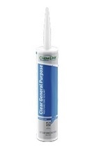 CLEAR Polyether Sealant, 10.1 OZ Tube (case/24)