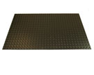 Conductive Diamond Plate Runner, 3x75 ft Mat, 5/32 inch Thick, Black