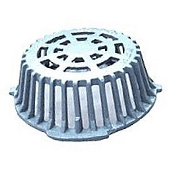 12 in. Low Profile Cast Iron Replacement Drain Dome / Strainer - 12 in. LOW PROFILE CAST IRON REPLACEMENT DRAIN DOME / STRAINER. 12-1/4 in. OD x 4-1/4 in. HIGH CAST IRON REPLACEMENT DRAIN DOME. FITS RD-300 AND MOST POPULAR 12 in. LOW PROFILE DRAINS. PRICE/EACH.