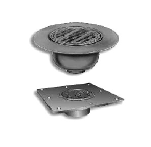 Smith 12 1 4 In Cast Iron Deck Drain Kit Underdeck Clamp