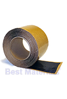 BLACK EPDM Seam Tape (DoubleStick), 3 inch x 50 ft. Roll