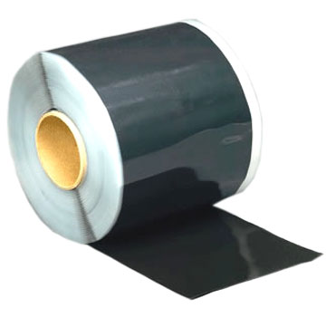 BLACK Seam Tape (Doublestick), 3 in x 100 ft. Rolls (case of 4) - BLACK PEEL/STICK (DOUBLESTICK) SEAM /SPLICE TAPE. DOUBLE-SIDED BLACK BUTYL RUBBER BASED SEAM TAPE FOR SEAMING ALL TYPES OF EPDM ROOFING. 35 MIL THICK, 3-INCH WIDE X 100 FOOT ROLLs. 4-ROLLS/CASE. PRICE/CASE.
