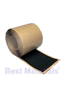Black EPDM Coverstrip Seam Cover Tape, 12 in. X 50 ft. Roll (1)