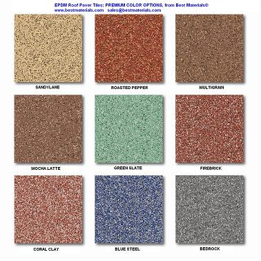 Interlocking Rubber Deck Paver Specify Color 24 X 24 X 2