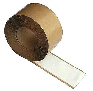 WHITE Seam Tape (Doubletick), 3 inch x 100 ft. Roll (1) - WHITE Seam Tape / Doublestick. Double-sided WHITE Butyl Rubber Based Seam Tape. Weatherbond Brand. 35 mil Thick, 3-inch Wide X 100 ft. Roll. Price/Roll.