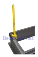 EZ-UP LP-6 Ladder Safety Post, for Roof Hatches