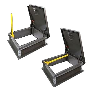 EZ-UP LP-6 Ladder Safety Post, for Roof Hatches - EZ-UP LP-6 Ladder Safety Safety Grab Post. For Roof Hatches. OSHA Compliant. Zinc Plated Steel with Yellow Powdercoat Finish. New Improved 2016 Model. Price/Each.