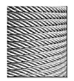 Galvanized Aircraft Cable 7x7, 1/4 in. x 10,000 feet - Galvanized Aircraft Cable 7x7, 1/4 inch x 10,000 feet. Tensile 6100 lbs. Work Load Limit: 1220 lbs. Weight per foot: 106 lbs per 1000 ft. Price/Each. (shipping leadtime 1-3 days)