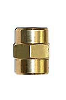 Propane 1/4 FNPT to 1/4 FNPT Coupling / Fitting