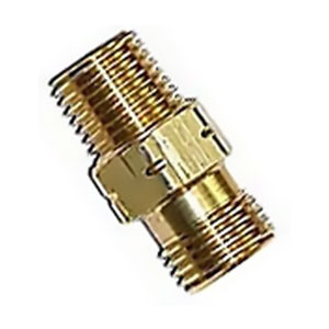 Propane Adaptor Fitting, 1/4 in. MNPT x 9/16 in. LH MNPT - Propane Adaptor Fitting, 1/4 inch MNPT x 9/16 inch LH MNPT. All Brass. Price/Each.
