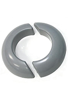 Chemcurb 5 inch ID Round Solid Curb Set (1-pair)