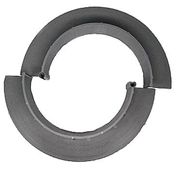 E-Curb 6-inch ID Round Pipe Flashing Curb, GRAY (1-pair) - Chem Link E-Curb, 6-inch ID Round Pipe Flashing Curb Set/Pair, Gray Color. Molded 2-Piece Interlocking Curbs for New or Retrofit Applications. 2 pieces (one-pair). Price/Pair. (Uses M-1 and 0.25 gallons of 1-Part filler, not included; aka F1352GR)