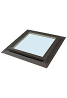 Sun-Tek FCG-2525 Fixed Tempered Dual Glass Insulated Skylight, 22-1/2 X 22-1/2 inches, Self-Flashing, Insulated Glass (1)