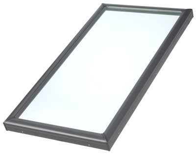 Velux 2246-0005 Fixed Curb Mounted Skylight w/ Tempered LowE3 Glass - Velux 2246-0005 Fixed Curb Mounted Skylight. Tempered Low-E3 Type Glass. Inside Curb Size 22-1/2 X 46-1/2 inch; Outside Curb Size 25-1/2 X 49-1/2 inch. Price/Each. (shipping leadtime 2-3 business days)