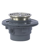 Watts FD-100-A5 Floor Drain, 5 in. Round NB Top Strainer