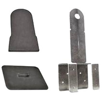 Guardian TRUSS BOSS Roof Anchor Kit, GRAY Color - GUARDIAN #000420 TRUSS BOSS KIT GRAY CAP COLOR ROOF ANCHOR KIT (Truss Anchor, Base Flashing, GRAY color Top Cap / Boot). PRICE/KIT.