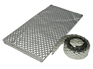 Heatshield Products HD18022 Sticky Shield, 1/8x23x24 - Heatshield HD18022 HD Sticky Shield (HP Sticky Shield), 23 x 24 inch x 1/8 inch with Peel/Stick Backing. Insulates and reflects up to 90% of radiant heat. Includes 10 ft roll of Weld Tape, instructions. Price/Each. (ship leadtime 1-2 business days)
