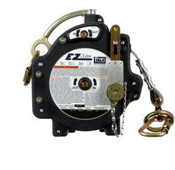 60 foot 3M #7605060 DBI-SALA EZ-Line Retractable Horizontal Lifeline System, Galvanized Cable (1) - 3M #7605060 DBI-SALA EZ-Line Retractable Horizontal Lifeline System, Customizable up to 60 ft., Built-in Winch, Built-in Pre-Tension and Impact Indicators, Galvanized Cable. Price/Each. (shipping leadtime 1-2 business days)