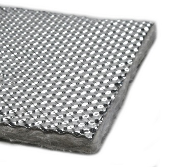 Heatshield HD17512 HP Armor, High Perf. Heat Shield, 0.5x18x48 in. - Heatshield Products HD17512 HP Armor, High Performance Heat Shield / Exhaust Wrap. 1/2 inch of insulation. Insulates and reduces RADIANT heat 60%. 18 inch wide x 4 foot Roll. Price/Roll. (Shipping Leadtime 1-2 business days)