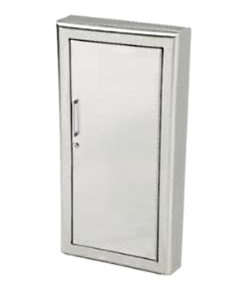 Awesome Fully Recessed Fire Extinguisher Cabinet