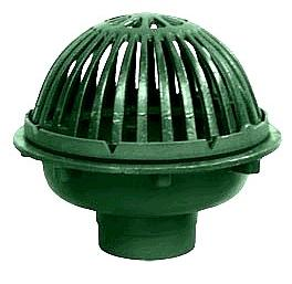 Josam 22010 Cast Iron 12 In Roof Drain With Beehive Dome