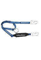 Falltech 82562 Fixed Shock Aborbing Lanyard, D-Ring Adjustable