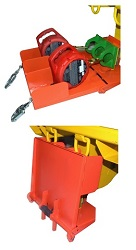 LES SLR-000-13 Tray System for Self Retracting Lifelines