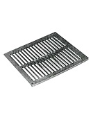 9 x 9 inch Square Flat Drain Grate, Reinforced Plastic
