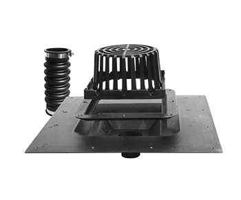 Lsp Uni Flex Abs Roof Drain W Hardware Specify Outlet
