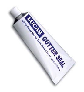 Lucas #5600SQ Gutter Seal, Self-Leveling Sealant, 5 oz Tube,  (1) - LUCAS # 5600SQ, 5 oz Tube, Gutter Seal, Self-Leveling Sealant with 42% Solids, 1200% Elongation, 300 PSI Tensile. 1 Tube. Price/Tube. (shipping leadtime 1-3 business days)