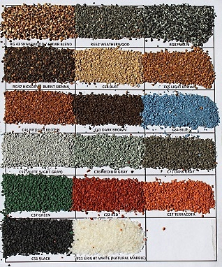 11 Ceramic Coated Roofing Granules 36 Specify Color