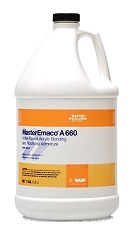 MasterEmaco A 660 Concrete Bonding / Modify Admixture 5G (pallet/36)