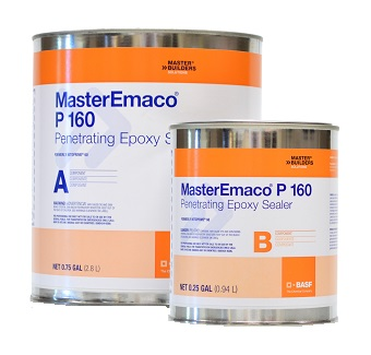 MasterEmaco P 160 (Nitoprime 60) Epoxy Primer, (1G) - MasterEmaco P 160 Epoxy Primer (Nitoprime 60) Kit. Two-component 100% Solids Penetrating Epoxy Primer/ Sealer. 1-Gallon Total in 2-Parts. Price/Kit. (special order, see detail view for ordering notes)