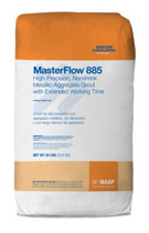 MasterFlow 885 Cement-based Metallic Aggregate Grout, 55LB, 60 bags