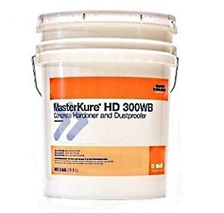 MasterKure HD 300 WB (Lapidolith) Concrete Hardener/Dustproofer (5G) - MasterKure HD 300 WB (formerly Lapidolith), Concrete Hardner and Dustproofer. 5G Pail. Price/Pail. (keep from freezing)