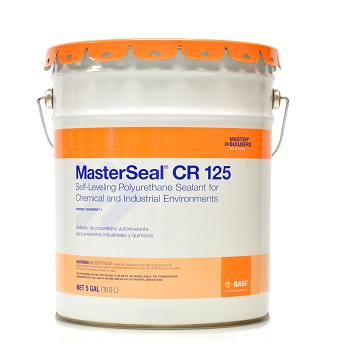 MasterSeal CR 125 (Sonomeric 1) Self Leveling Runway Sealant (5G) - BASF MasterSeal CR 125 (formerly Sonomeric 1) Self-Leveling Concrete Expansion Joint Sealant. One-Part Polyurethane for Airport Runways / Chemical Environments. 5-Gallon Pail. Price/Pail. (special order; see detail view for ordering notes)