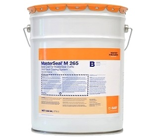 MasterSeal M 265 2-Part Fast-Cure Basecoat (4.66 G) - MasterSeal M 265 Traffic-Grade Waterproofing Basecoat (formerly Conipur 265Z)  2-Part Fast-Curing High Solids Polyurethane Base Coat. 4.66 Net Gallon Kit. Price/Kit.
